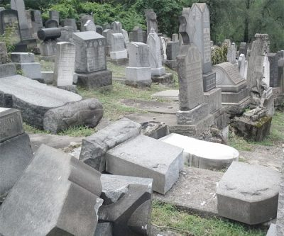 Cemetery Damage